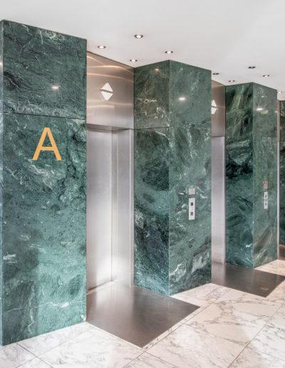 Aufzüge Einganghalle